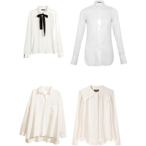 Rebajas camisas blancas
