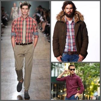 rebajas para hombres camisas de cuadros