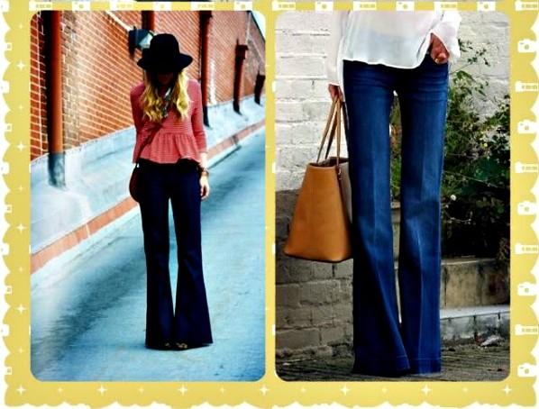Como Combinar Tu Pantalon De Campana Segun Tu Silueta