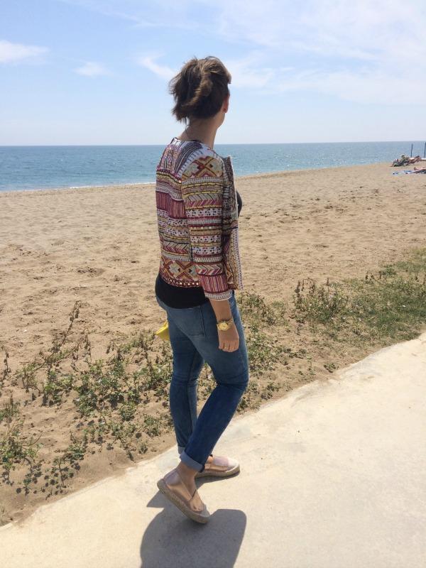 pasarela del mar