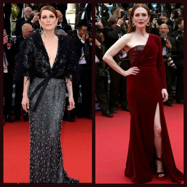Julianne Moore en el Festival de Cannes