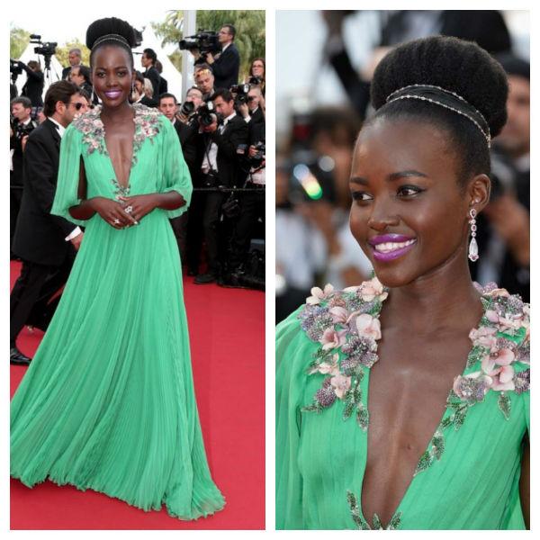 Lupita Nyong'o en el Festival de Cannes
