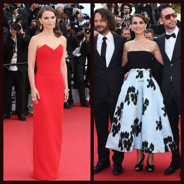 Natalie Portman en el Festival de Cannes