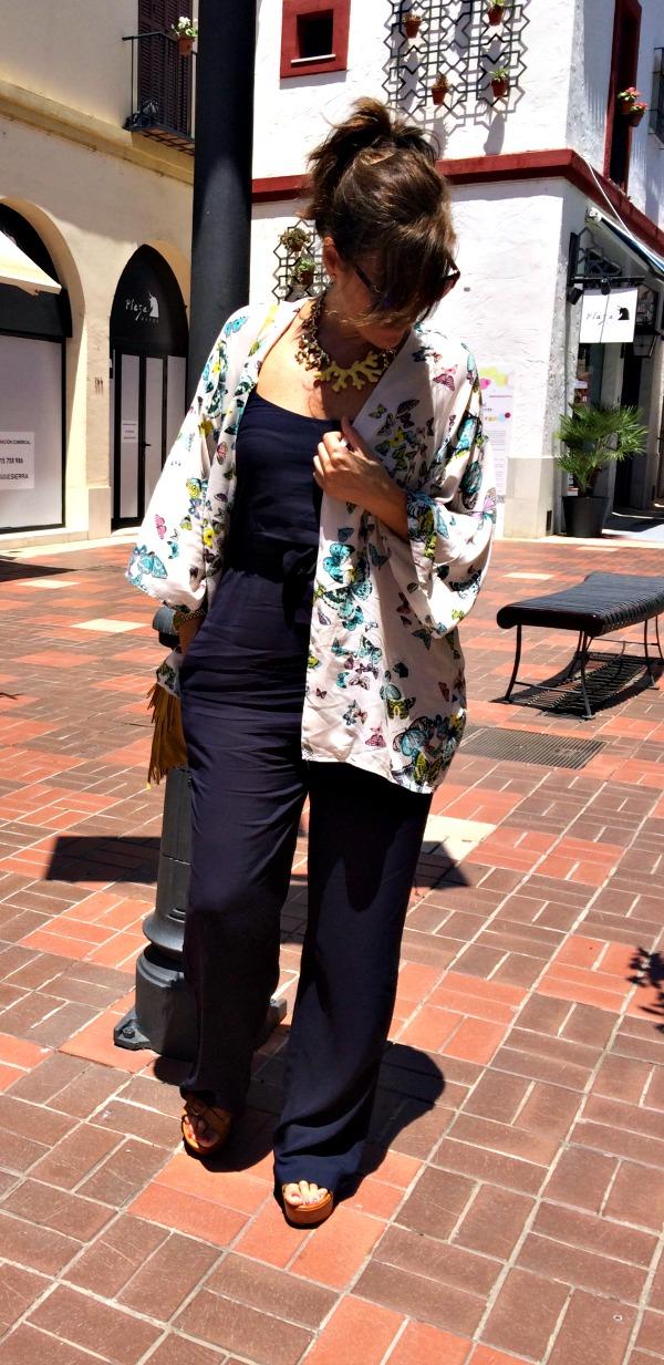 Kimonos con jumpsuit