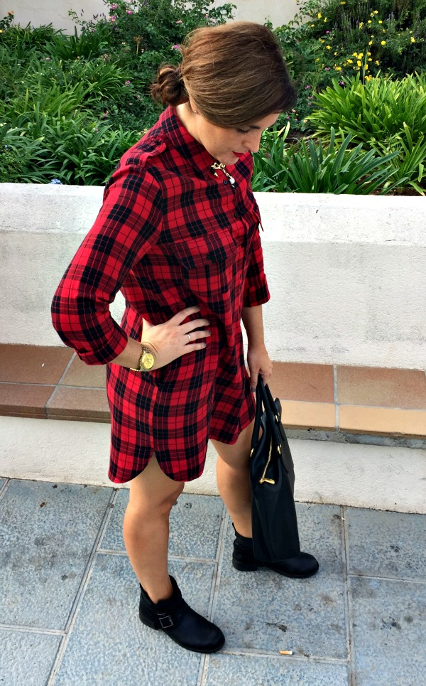 tartan: mi outfit