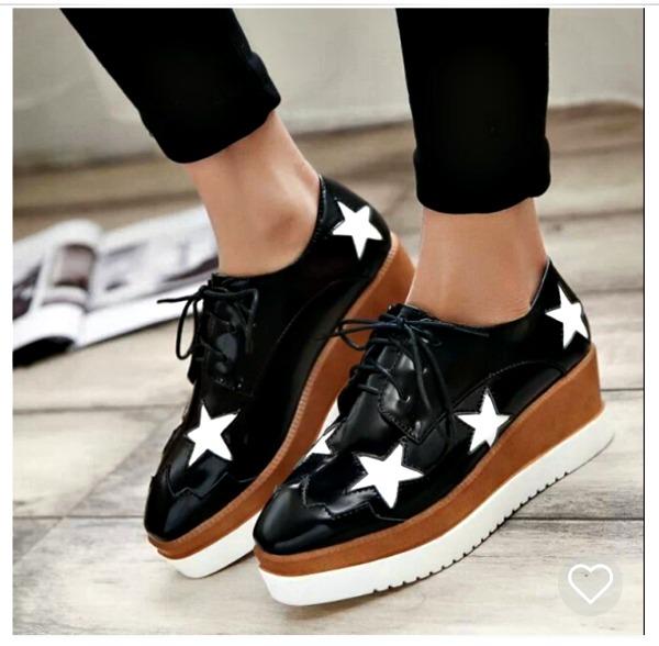 Regalos de Navidad zapatos estrella