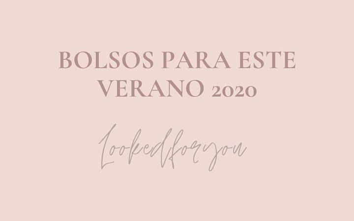 Bolsos tendencia para el verano 2020