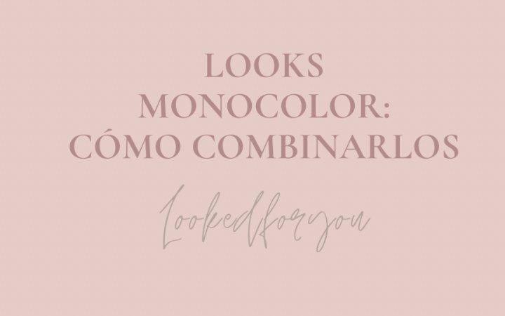 Cómo llevar un look monocolor