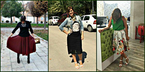 falda midi collage grande
