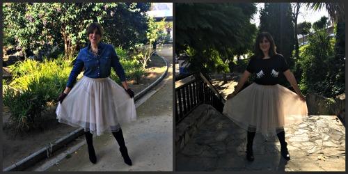 falda de tul portada