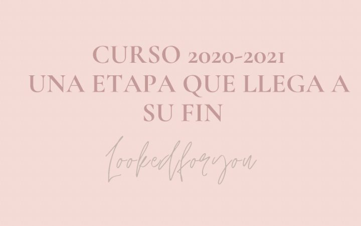 Curso 2020-2021: una etapa que llega a su fin